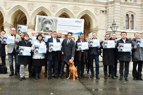 Nepp: FPÖ protestiert gegen SPÖ-Hundetötungsgesetz