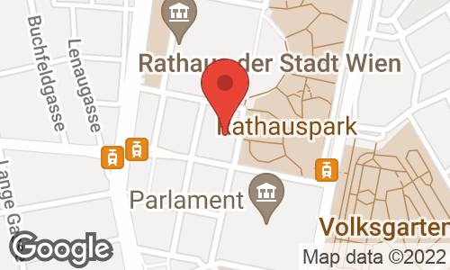 Google Map: Rathausplatz 8/3, Wien